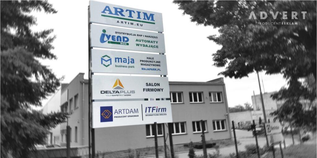 pylon Artim - advert producent pylonow Opole