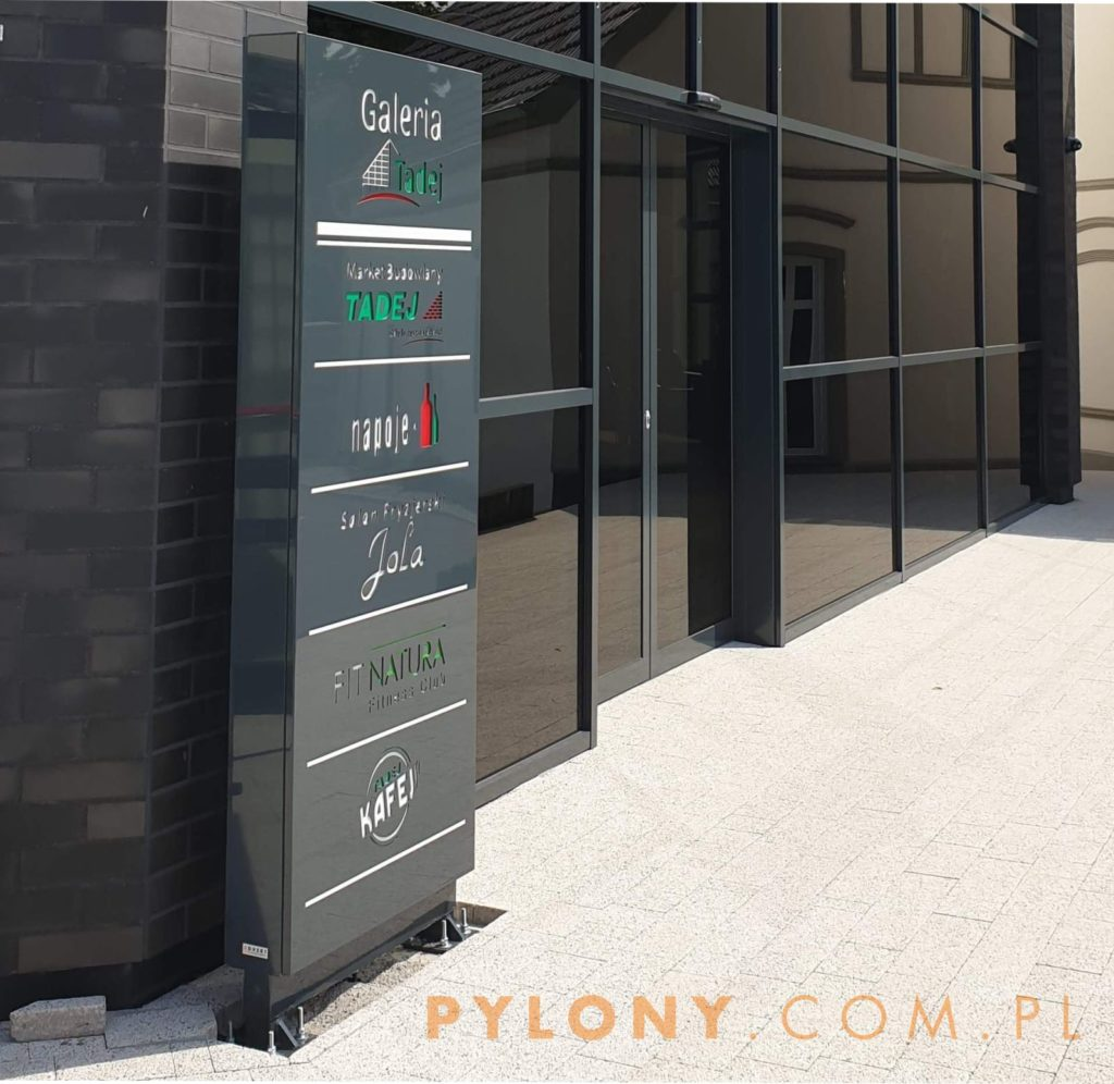 PYLON REKLAMOWY led