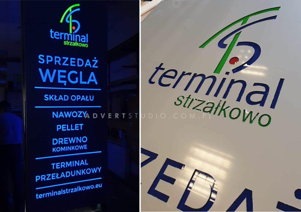 producent reklamy świetlnej LED z Opola